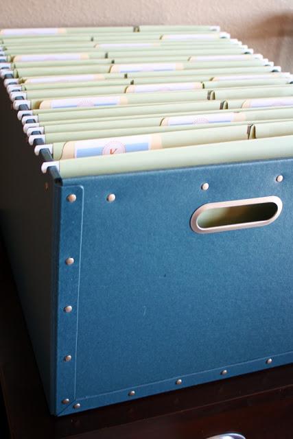 School paper file box 1