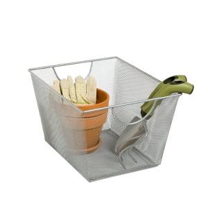mesh handled bin